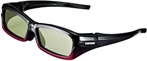 Samsung SSG-2200AR Re-chargeable Adult 3-D Glasses  - Black (Compatible with 2010 3D TVs)
