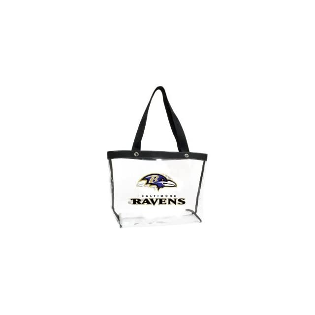 Baltimore Ravens Clear Tote Bag Purse