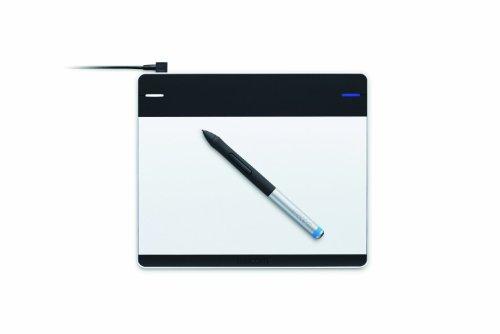 Wacom Intuos Pen S, FR & NL - Tableta gr�fica (FR & NL Intuos, Al�mbrico, USB, 152 x 95 mm, 0.5 mm, Mac OS X 10.6 Snow Leopard, Mac OS X 10.7 Lion, Mac OS X 10.8 Mountain Lion, 48h) Negro, Plata