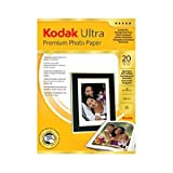 Kodak Ultra Paper Inkjet High Gloss 285gsm 20 Sheets A4 Ref 3936788