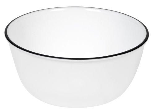 Corelle Livingware 28-ounce Super Soup/cereal Bowl, Classic Caf? Black Picture