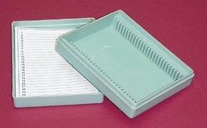 Seoh Microscope Slide Box Plastic 25 Microscope Slides