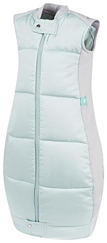 ergoPouch OQMB 3.5 TOG Organic Cotton Quilt Sleeping Bag, Mint, 12-36 Months - 1