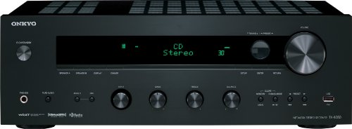 Fantastic Deal! Onkyo TX-8050 Network Stereo Receiver (Black)