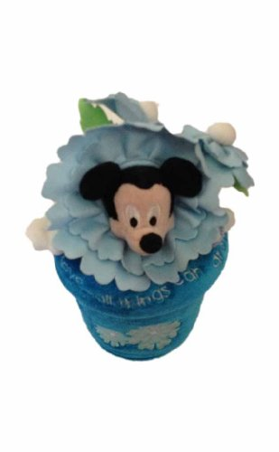 Flower Pot Mickey Mouse Plush