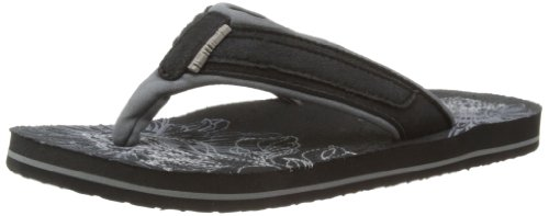 Animal Womens Swish Soft Thong Sandals FM4SE324 Black 7 UK, 40.5 EU, Regular