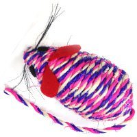 Iconic Pet Catnip Rope Mice Toy, 3.7\
