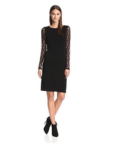 Kier & J Women's Dress with Lace Sleeves