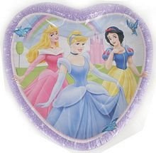 Disney Princess 9 Inch Heart Plates - 8 per pack - Buy Disney Princess 9 Inch Heart Plates - 8 per pack - Purchase Disney Princess 9 Inch Heart Plates - 8 per pack (Disney, Toys & Games,Categories,Party Supplies,Tableware,Plates)