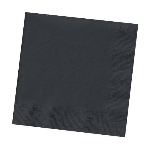 Black Velvet Beverage Napkin 2 Ply Solid Bulk 1200ct