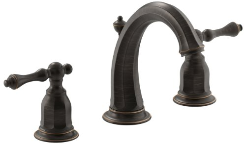 Kohler K-13491-4-2BZ Kelston Two-Handle Widespread Lavatory Faucet, Oil Rubbed Bronze