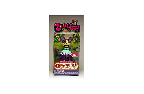 Zoobles Toy Petagonia Animal Mini Figure #002 Doxy - 1