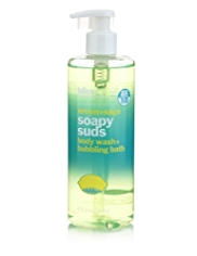 bliss® Lemon+Sage Soapy Suds Body Wash and Bubbling Bath 470ml