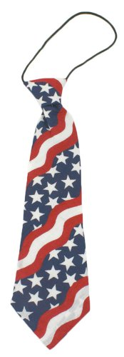 Boys Patriotic Neck Tie - Great Red/White/Blue Tie For The 4Th Of July! front-350303