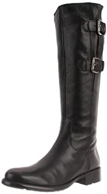 Clarks Women's Mullin Spice Harness Boot, Black Leather, 6 M US