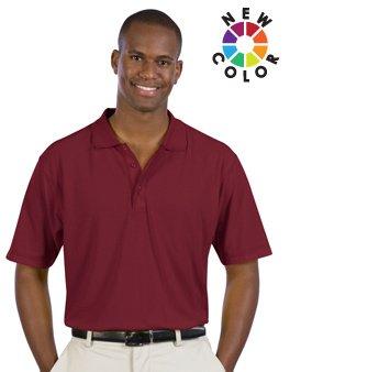 Men'S 5.6 Oz. Pique Knit Sport Shirts - By Fashion Destination front-1043461
