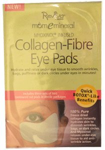 Collagen-Fiber Eye Pads, 3 Sets of Two Contoured Pads by Reviva Labs