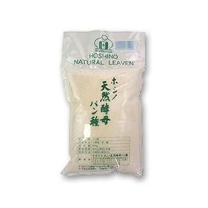 酵母 ホシノ 天然酵母パン種 500g 月替ママパン通信付き(レシピ、パンのコツが満載 1注文に1枚のみ)