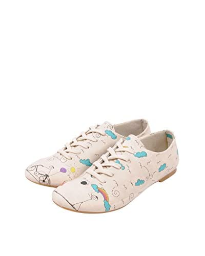 Dogo Zapatos Clásicos Play Crema