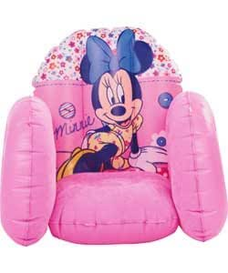 Minnie Mouse Flocked Inflatable Chair (IJ784AA)