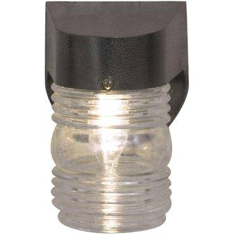 outdoor wall light fixture jelly jar metal flush mount ceiling light fix. Black Bedroom Furniture Sets. Home Design Ideas