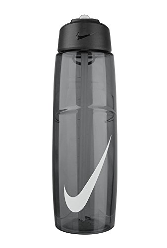Nike T1 Flow Swoosh Water Bottle (32oz, Anthracite/White) (Nike Flow Water Bottle compare prices)