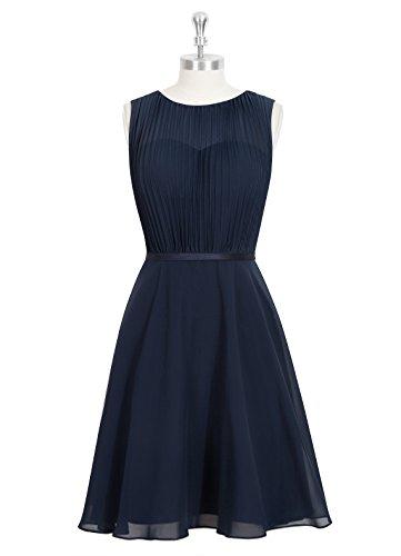 Emyrin Chiffon Sweetheart Neckline & Cinching Charmeuse Belt Reception Dresses