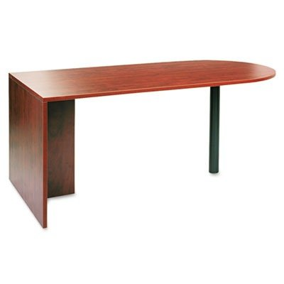 Alera Va277236Mc - Valencia Series D-Top Desk, 72W X 36D X 29-1/2H, Medium Cherry