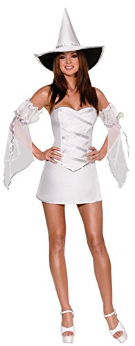 Dreamgirl Womens Which Witch Reversible Outfit Fancy Dress Sexy Costume