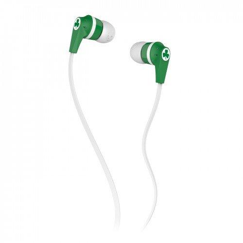 Skullcandy S2Ikdz-165 Ink'D 2.0 Earbud Headphones (Boston Celtics)