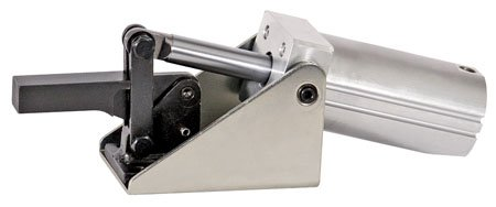De-Sta-Co Pneumatic Hold-Down Action Clamp, Solid-bar, 750 holding capacity