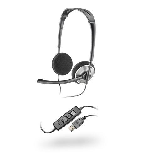 Plantronics .Audio478 Fold Flat Usb Stereo Headset, Skype Cert (Pl-.Audio478)