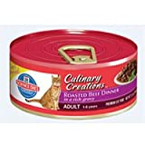 Hill's Science Diet Culinary Creations Adult Roasted Beef Dinner in a Rich Gravy Cat Food - 5.5-Ounce Can (Pack of 24)