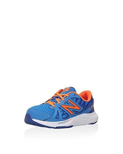 New Balance Zapatillas KJ690 Azul / Naranja