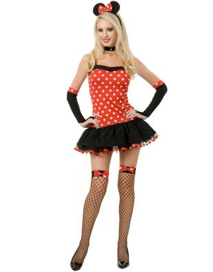 Costume halloween minnie mouse sexy