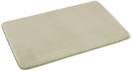 AmazonBasics - Scendibagno in memory foam, 46 x 71 cm, salvia
