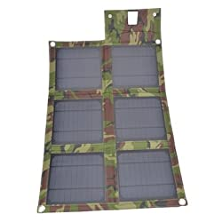 15W USB Folding Solar Panel Outdoor Portable Charger For Mobile Phone-