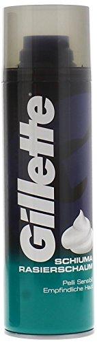 Gillette Schiuma da barba per Pelli Sensibili (300 ml)