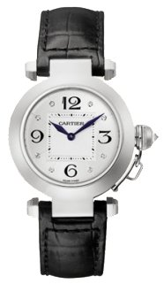Cartier Pasha de Cartier 18kt White Gold Ladies Watch WJ11902G