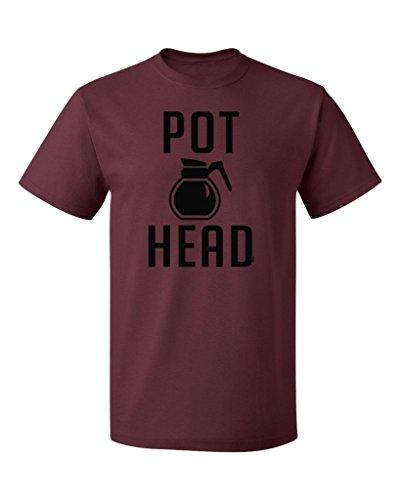 PB-Coffee-Pot-Head-Mens-T-shirt-S-Maroon