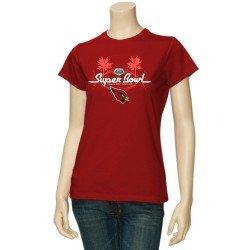 78c7737b Nike Super Bowl XLVIII Ladies Fan V-Neck Slim Fit T-Shirt - White