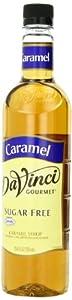 DaVinci Gourmet Sugar Free Syrup, Caramel, 25.4 Ounce (Pack of 3)
