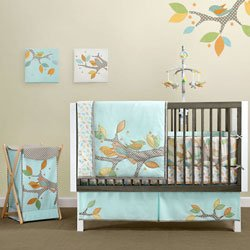 Migi Little Tree 4-Piece Crib Bedding Set by Bananafish