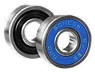 Bones Bearings Swiss 6-Ball Skate Bearings (8mm, 16-Pack)