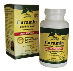 Curamin Extra Strength EuroPharma (Terry Naturally) 120 Tabs