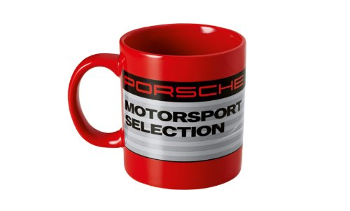 Genuine Porsche Motorsport Racing Mug Coffee Cup - Limited Edition