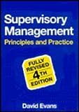 Supervisory Management (0304331317) by Evans, David