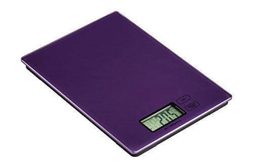 Premier Housewares 0807262 Zing Balance de Cuisine Electronique Verre Violet