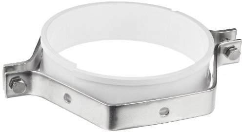 """Dixon B24PS-G300 Stainless Steel 304 Sanitary Fitting, Hex Tube Hanger with Sleeve, 3"""" Tube OD"""