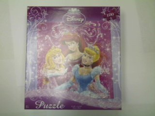 Cheap Fun Disney Princess 100-Piece Jigsaw Puzzle (Cinderella, Sleeping Beauty and Little Mermaid) (B0039K59EA)